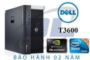 Dell Workstation T3600 cũ/ Xeon E5-2680, VGA Quadro K4000, SSD 256Gb, Dram3 32Gb + HD 1Tb