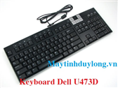 Bàn phím Dell Usb Multimedia Keyboard Volume U473d