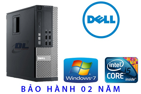 Dell Optiplex 790 sff / Intel co-i3 2120 ( 3.4Ghz ) Dram3 4Gb/ HDD 320Gb