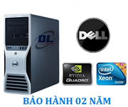 Dell WorkStation T5500 - Xeon X5650/ Dram3 32Gb/ SSD 120Gb và HDD 1Tb/ VGA GTX 1050Ti