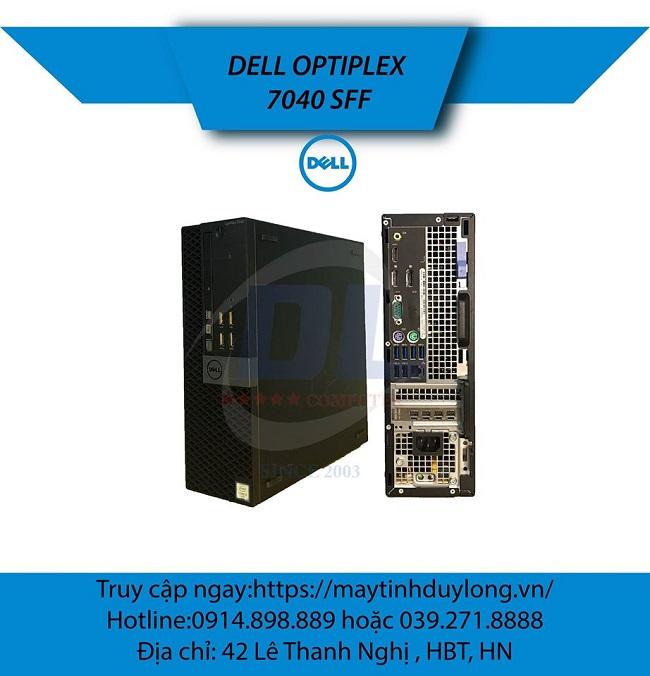 Dell Optiplex 7040 ssf/ Core i7 6700, DR4L 16G, Ổ M2 180G, VGA K1200 4GR5, HDD 1Tb đồ họa