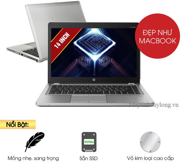 Laptop Hp folio 9480m, Core i5 4300u, Dram3 4G, SSD 128G hàng business cũ