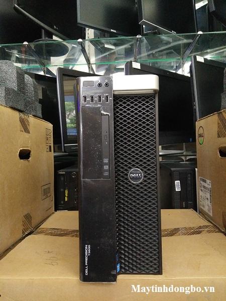 Dell Workstation T3600 CŨ / Xeon E5-2630, SSD 128Gb+HD 1Tb, VGA Quadro K2000, Dram3 16Gb Ecc