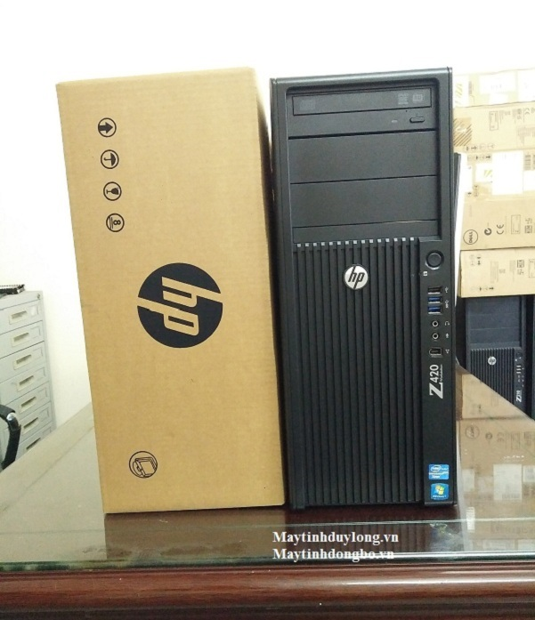 Hp Z420 WorkStation/ Xeon E5-1607, VGA GTX 750Ti, Dram3 16Gb, SSD 120Gb+HD 500G