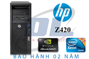 Hp Z420 WorkStation, Xeon E5-2667v2, SSD 240Gb, VGA Quadro K5000, Dram 32G, HDD 1Tb