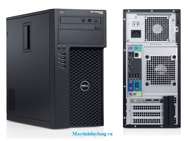 Dell WorkStation T1700/ Xeon E3-1220v3, DRam3 8G, VGA QUADRO 2000, SSD 120G + HDD 500G