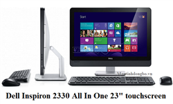 Dell Inspiron One 2330 Touchscreen/ Màn LED 23 FHD, Core-i5 3470, SSD 160Gb, DRam III 4G mạnh mẽ