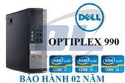 Máy tính Dell Optiplex 990/ Core i3-2120 ( 3,3Ghz ) Dram3 4Gb/ HDD 250Gb