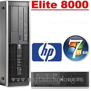 HP Compaq 8000 Elite SFF/ Intel Core E7500/ Dram3 2G/ HDD 160G/ DVD+RW