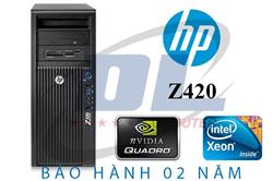 HP WORKSTATION Z420/ Xeon E5-2670, VGA Quadro K620 2Gb, DRam3 16G, SSD 120G+HDD 500G