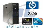 HP Workstation Z600/ 2 Chíp X5670, VGA GTX 1050Ti 4Gb, Dram3 32Gb, SSD 240G + HDD 500G