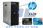 Hp Workstation z620 / Xeon E5-2651V2/ VGA QUADRO K5000 4G/ SSD 256Gb/ Dram3 32Gb + HDD 2Tb