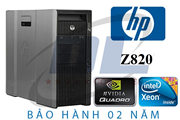 Hp WorkStation z820/ Xeon E5-2689, Quadro K4200, Dram3 32Gb, SSD 240G + HDD 1T chuyên 3D