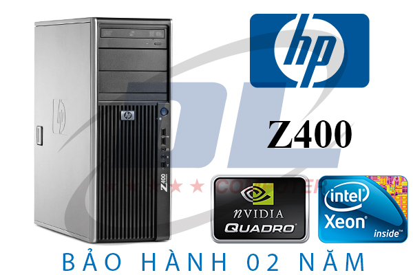 Hp Z400 - Six Core X5675, Dram3 16Gb, SSD 240G, VGA GTX 1050Ti, HDD 500GB