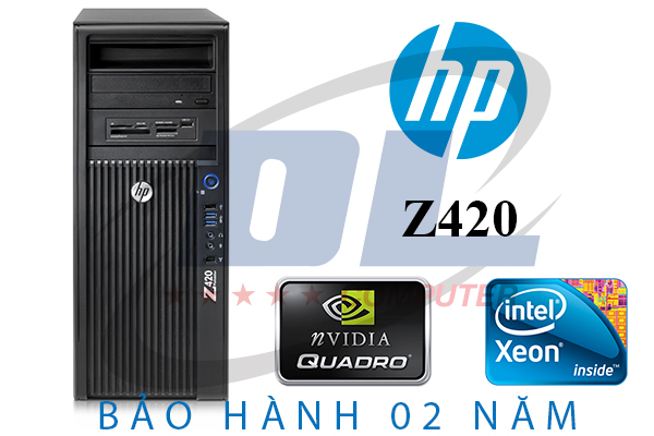 Hp z420 Workstation/ Xeon E5-2670, VGA Quadro K2000, Dram3 16Gb, SSD 120G + HDD 500G
